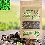 Sizet 100% Organic Catnip Leaves Organic, Resealable Kraft Bag with Cat Mint, 10g