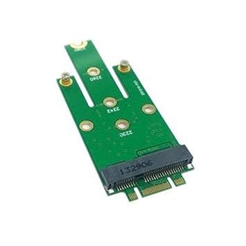 M.2 NGFF PCI-E 2 Lane - Pin de Dedo Dorado a 50 mm Mini-PCIE mSATA ...