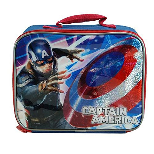 Marvel Captain America Lunch Box Kit