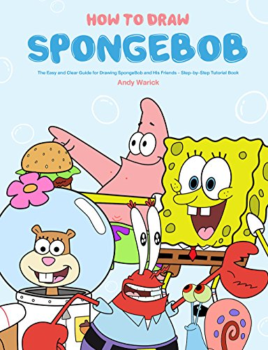 how to draw spongebob the easy and clear guide for drawing
