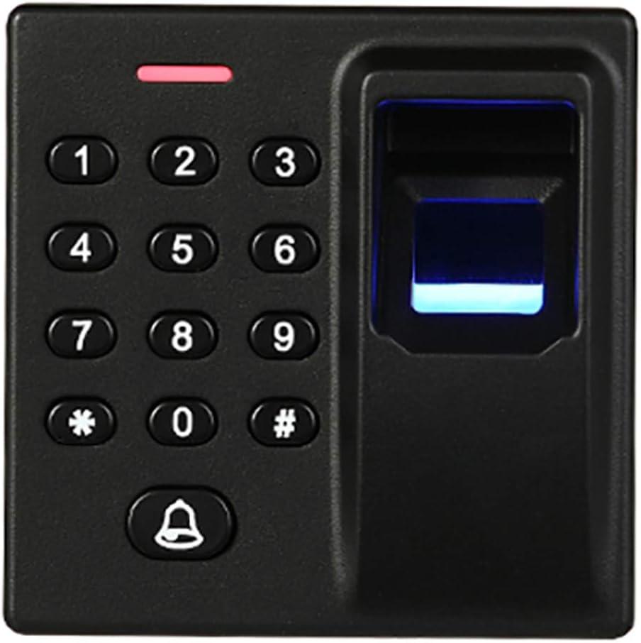 SCPAMA ABS Shell Standalone Fingerprint Access Controller 125KHz EM Card Reader for Single Door Wiegand 26 Output