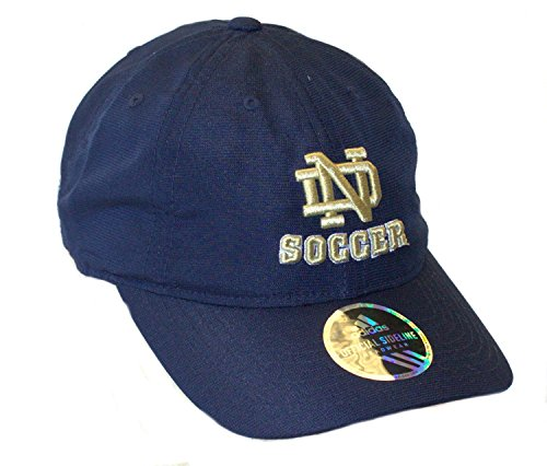 NCAA Officially Licensed Notre Dame Slouch Fit Textured Soccer Hat Cap - Irish Ball Soccer Notre Dame