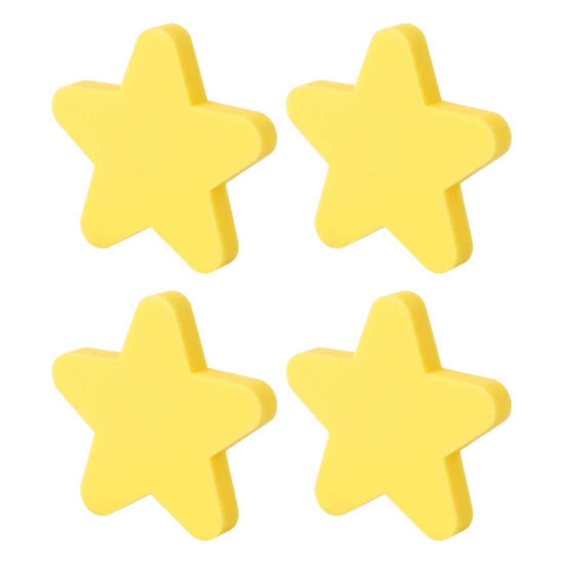 Batop Lot de 4 Boutons de Meuble Enfant Bouton de Porte en Forme de /Étoile Mignon Poignee de Meuble pour Tiroir Armoire et Placard D/écoration