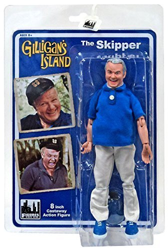 Gilligan's Island 8 Inch Action Figures Series 1: Skipper by Figures Toy Company