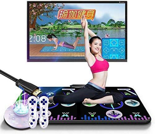 boxiangxu 減量無線子供用ダブルホームコンピューターダンスマットダンスマシンデュアルユース