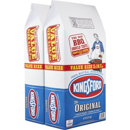 Kingsford Original Charcoal Briquettes, 16.7 lb Bags, 2 Pack by Kingsford