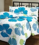 WebelKart® Designer Collection Floral Ac Single Microfiber Blanket (54 X 84 Inches, Multicolor)