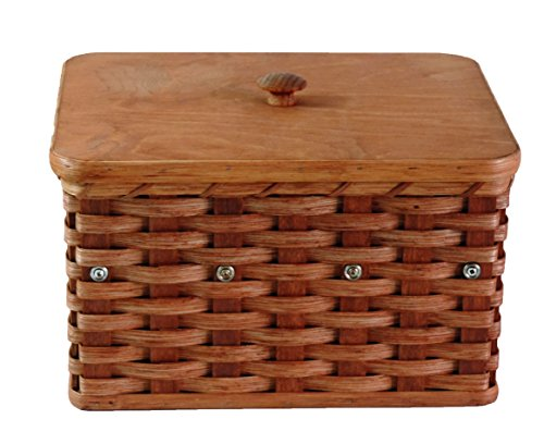 Amish Handmade Jewelry Box Basket