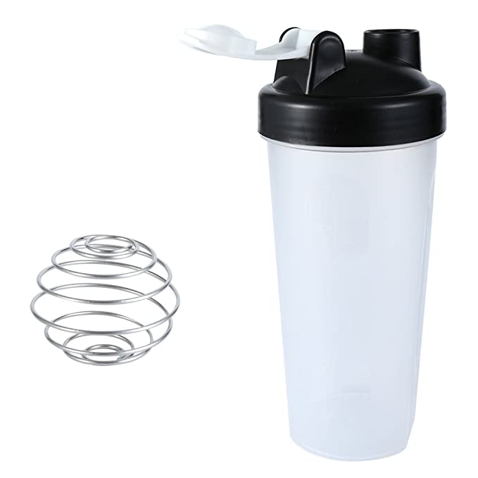 7 opinioni per LAOMAO Gymadvisor Protein Shaker Sports Water Shaker Bottle Cup + 1 Stainless