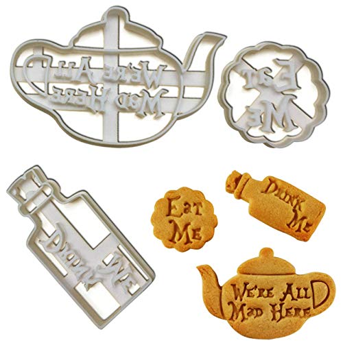 FULL SET of 3 cookie cutters inspired by