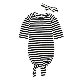 PAOLIAN Conjuntos para Unisex bebé niñas Manga Larga Otoño 2018 Monos+Diademas Bebes Peleles para