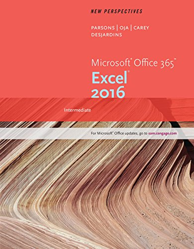 Microsoft 365 Excel 2016,Intermed.