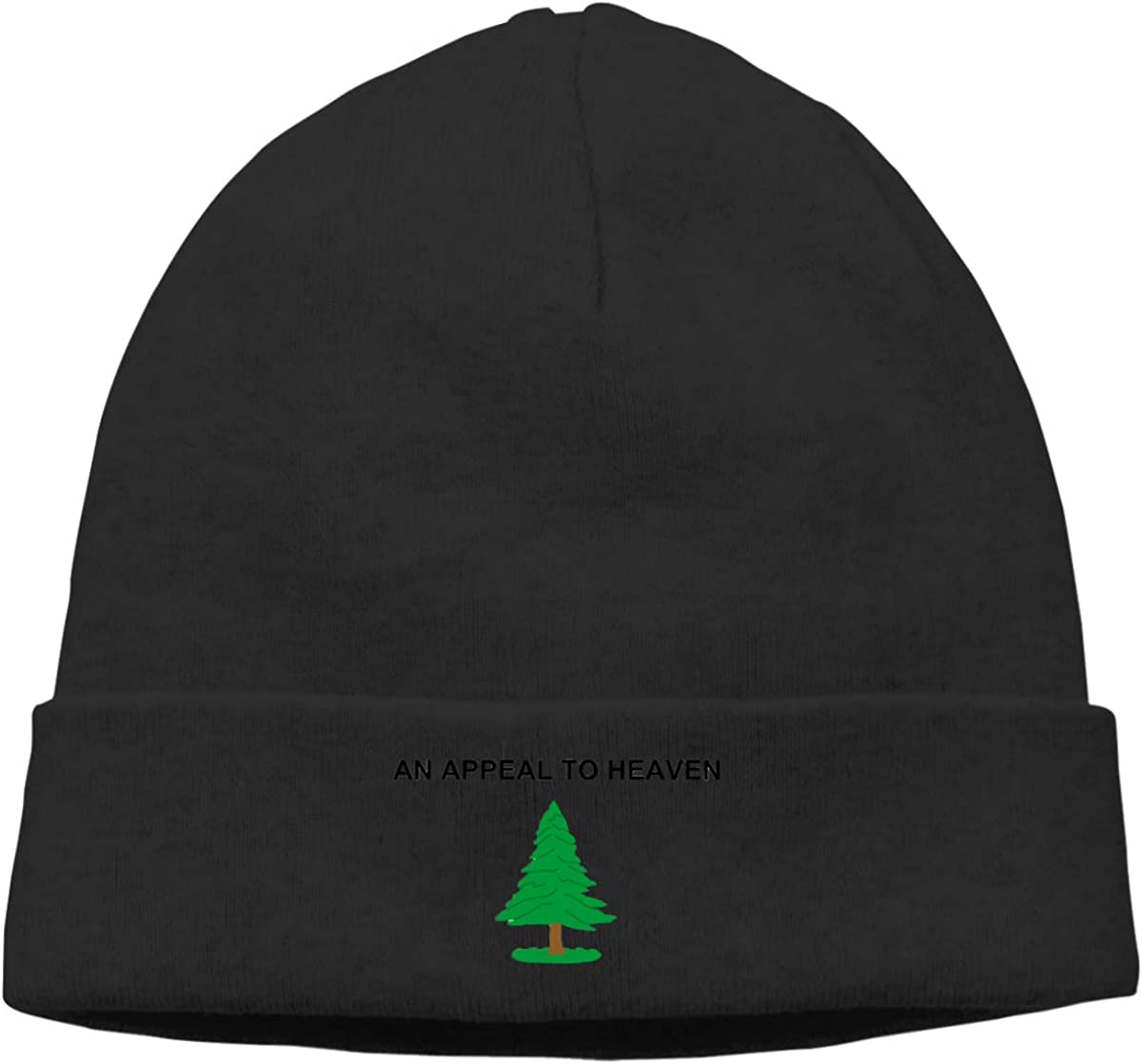an Appeal to Heaven Flag Cap Unisex Cuffed Chunky Serious Beanies Winter Hats