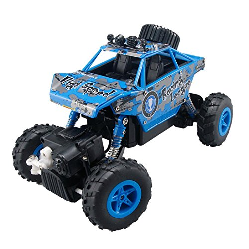 Gotd 1/20 2.4GHZ 4WD Radio Remote Control Off Road RC Car ATV Buggy Monster Truck, Blue by Goodtrade8