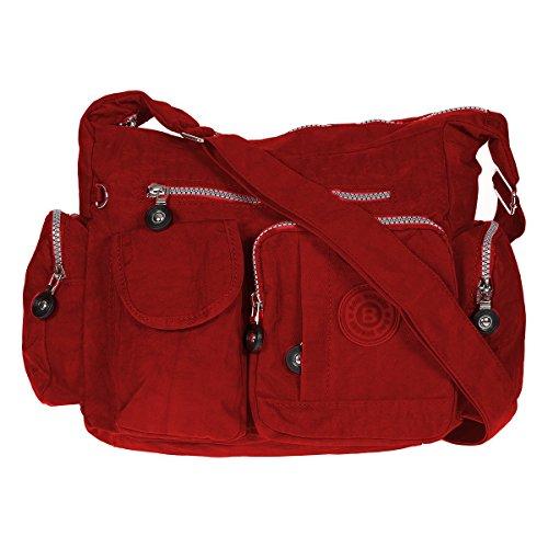 du Rot bandoulière Bag à bleu corps près sac street nylon en sac xPYtFY