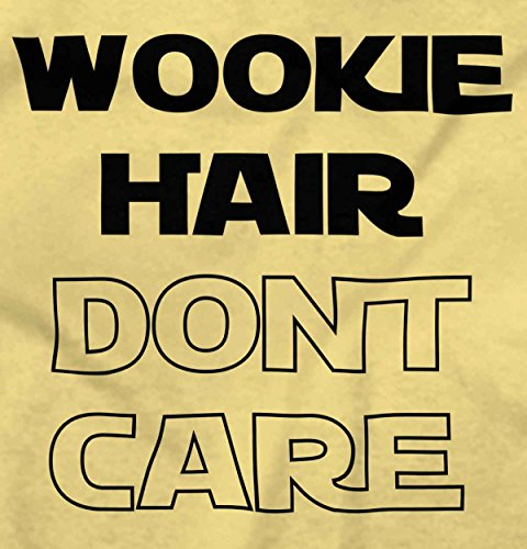Brisco Brands Wookie Hair Dont Care Cute Nerdy Geeky Infant Toddler T Shirt