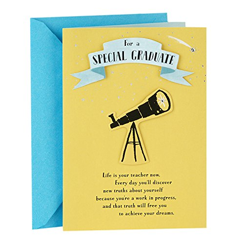 Hallmark Graduation Greeting Card (You're a Unique Gift to the World)