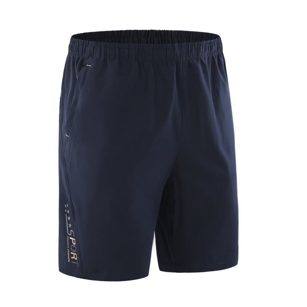 INIBUD Gym Shorts Men Quick Dry Athletic Running Sports Shorts 3 Colors