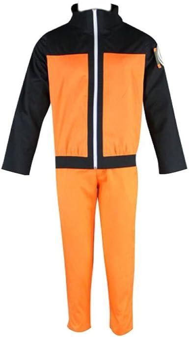 Amazon.com: Naruto Vol 2 Cosplay costume-uzumaki Naruto Kid ...