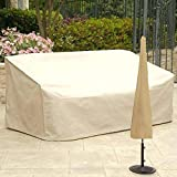 ditional Umbrella Cover, Protective Waterproof Universal Standing Cantilever parasols – Weatherproof Cover, Umbrella Cover Weatherproof for Garden Outdoor Thrifty