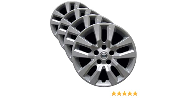 Fits 2013-2018 Nissan Altima 53088 Genuine OEM Hubcap 16-NCH Factory Replacement Wheel Cover Professionally Reconditioned Like-New