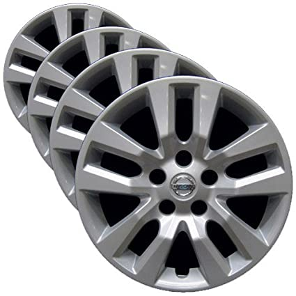 Amazon.com: OEM Genuine Nissan Wheel Cover - 16-inch Factory Replacement Hubcap Fits Altima 2013-2018 (Set of 4 Professionally Reconditioned Wheel Covers): ...