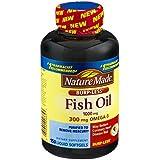 美亚:Nature Made Omega-3 防嗝版 深海鱼油胶囊 1000mg * 150粒.07,约合56元(金盒特价)