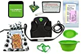 TSA Fast Pass In Cabin Pet Airline Travel Accessory Kit GREEN (Medium Harness)
