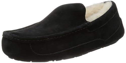 UGG Ascot 5775 - Zapatillas de casa para hombre, color negro, talla 42: Ugg: Amazon.es: Zapatos y complementos