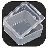 7 pcs Travel Portable Transparent Plastic Storage Box Small Kit Medicine Drug Pill Case 222208