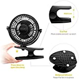 720° Rotation Clip Desk Fan Mini USB Personal Cooling Fan