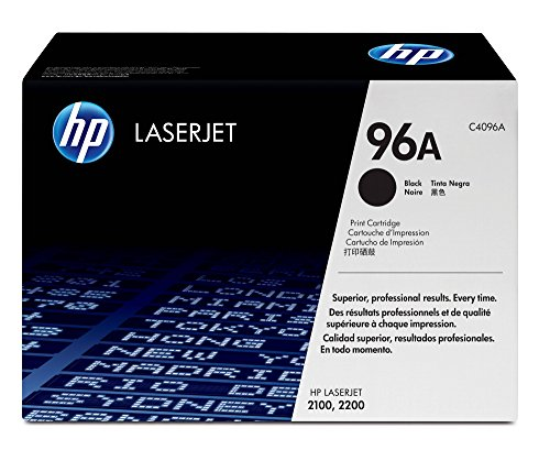 Laserjet 2100 Laser - HP 96A (C4096A) Black Original LaserJet Toner Cartridge DISCONTINUED BY MANUFACTURER