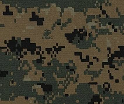 e97ba1fe69878 Amazon.com: Woodland Green Marpat Digital Camo Fabric NYCO Twill 65