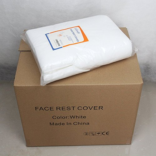 Lifesoft Disposable Headrest Covers Massage Face Cradle covers, 10 Bags of 100, Case of (1000 Chair Package)