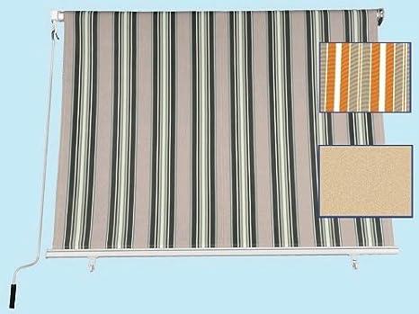 Tenda Da Sole A Caduta Misura 200x250h Cm Colore Giallo Beige