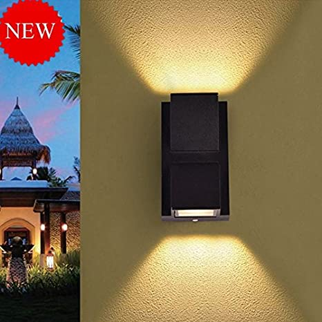 Buy glitz up down outdoor led wall light ip65 warm white built in glitz up down outdoor led wall light ip65 warm white built in aloadofball Choice Image