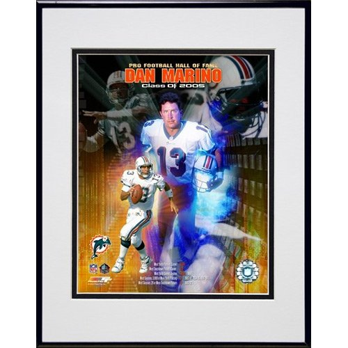 - Photo File Miami Dolphins Dan Marino Hall of Fame Class 2005 Framed Photo