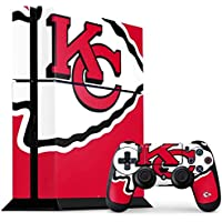 Kansas City Chiefs PS4 Console and Controller Bundle Skin - Kansas City Chiefs Large Logo | NFL X Skinit Skin