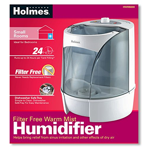 Holmes Warm Mist Filter Free Humidifier For Small Rooms Hwm Num