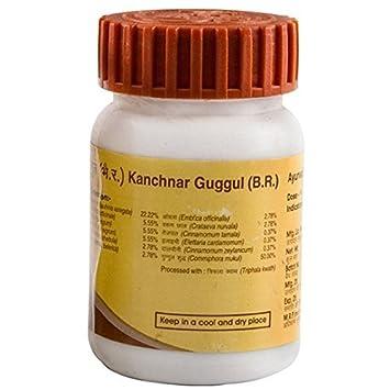 Divya Kanchnar Kanchanar Guggul Guggulu - 80 tablets - Patanjali