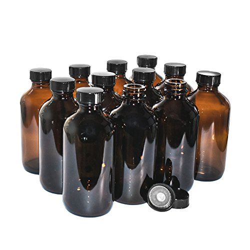 glass amber bottles - 6