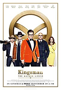 Kingsman 2 The Golden Circle (DVD 2017) NICE MOVIE ACTION