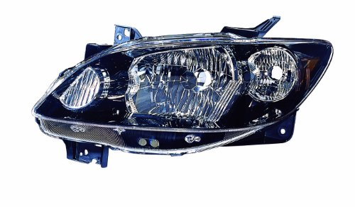 Mazda Mpv Replacement Headlight - Depo 316-1133R-US2 Mazda MPV Passenger Side Replacement Headlight Unit without Bulb with Rocker Molding