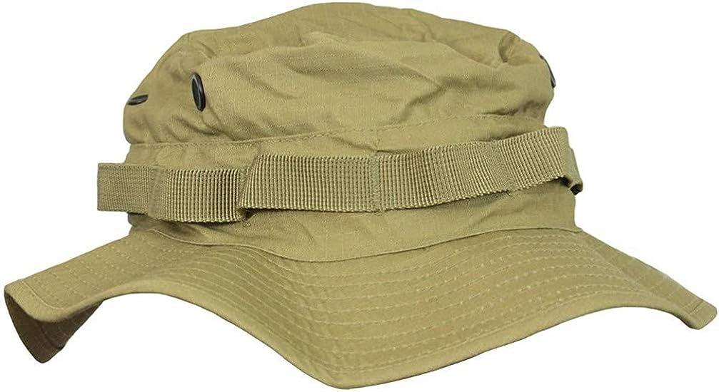 Bush Floppy Sun Cap Military Rip-Stop Lightweight MIL-TACS FG CAMO BOONIE HAT