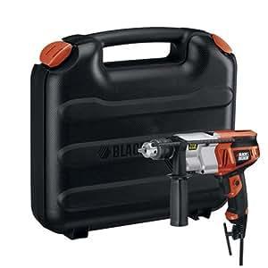 Black & Decker DR650K 6.5-Amp 1/2-Inch Dual Range Hammer Drill with Storage Case
