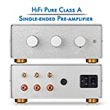 Nobsound HiFi Class A Single-Ended Preamplifier 2-IN-1-OUT Stereo Loudness Control Preamp