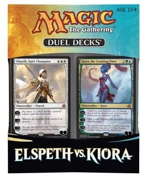 ELSPETH vs. KIORA – MTG Magic the Gathering 2015 Duel Decks Box Set – 120 cards
