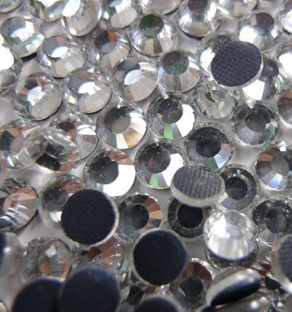 20ss Hot Fix (4,000pc bulk 5mm 20ss CLEAR Crystal Loose Rhinestone Hot Fix)