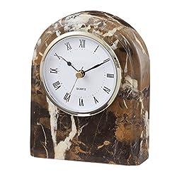 Polaris clock Black & Gold Marble (BG)