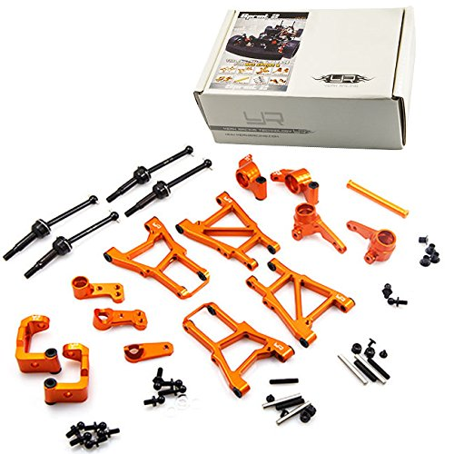 Yeah Racing Aluminum Essential Conversion Kit For HPI Sprint 2 #CK-SPT2OR (Essential Parts)